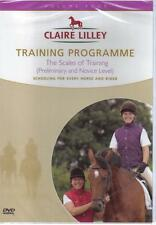 NEW DVD SCALES OF TRAINING Prelim Novice Elem DRESSAGE