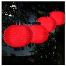 Chinese Lanterns With Lights Battery Operated String Hang Sky Kit Solar LED  New