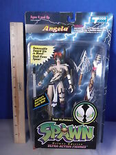 SPAWN ANGELA 6 IN FIGURE MIB DELUXE EDITION McFARLANE 1995 ACTION HERO 121812