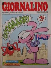 Giornalino 49 1987 Piccolo Dente - Pinky - Snorky  [C20]R1