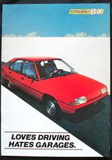 THE CITROËN BX RANGE SEPTEMBER 1983 SALES BROCHURE #K1704