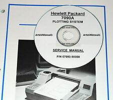 HP 7090A  Measurement Plotter Service Manual