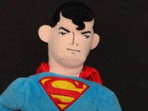 2000 WARNER BROS. STUDIO SUPERMAN PLUSH TOY STUFFED ANIMAL OVERSIZED HEAD DOLL
