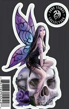 "lethal threat angel mini decal skull fairy purple 3"" x 4.5""  LT55049"