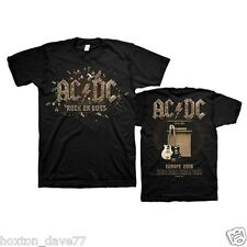 AC/DC Rock Or Bust l'Europe officielle 2016 Tour T-shirt doublesided Guns N Roses