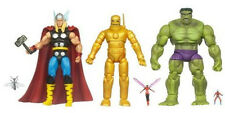 MARVEL UNIVERSE Classic AVENGERS 5 Pack__THOR_IRON MAN_HULK_ANT-MAN_WASP figures