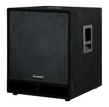 "Subwoofer Speaker Monitor Box Sub 18"" 45cm Woofer Bass Box DJ PA Passive 1800W"