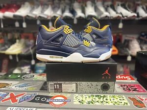 nike air jordan retro 4 dunk from above size 11 vintage vtg authentic rare new