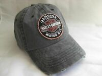 Harley Davidson Genuine Oil Patch Baseball Cap Kappe Mütze 99411-16VM
