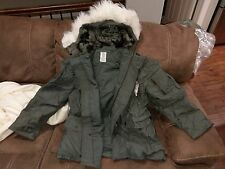 USGI Military Parka Jacket Coat N-3B N3B Extreme Cold Weather ECW SMALL NEW