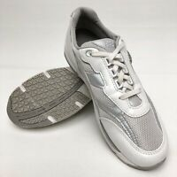 @ SAS Womens Tour White Leather Mesh Comfort Shoe Sz 9.5 N Athletic Sneaker EUC
