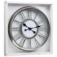 Brand New Stylish Design Numeral Station Wall Clock Home Decoration Diameter 4cm