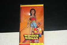 WONDER WOMAN Vintage Barbie Doll 2003 MATTEL NEW IN BOX (Unopened)