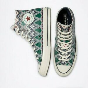 CONVERSE CHUCK 70 HOLIDAY SWEATER  RARE!M8.5/W10.5 ‼️FREE SAME DAY PRIORITY SHIP