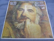 KENNY ROGERS -LOVE WILL TURN YOU AROUND- 1982 MEXICAN LP STILL SEALED COUNTRY