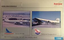 BOEING 767-200 e MC DONNELL DC-3 PIEDMONT AIRLINES, scala 1/500 HERPA (514866)