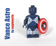 Custom minifigures Marvel Vance Astro on lego brand bricks