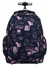 SCHOOL BACKPACK TROLLEY BAG ST.RIGHT CATS ST. MAJEWSKI