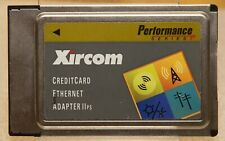 Xircom CreditCard Ethernet Adapter IIPS PS-CE2-10 10mbps PCMCIA PC Card Vintage