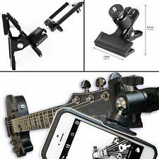 Guitar Ukulele  & Mobile Phone Fixation Support Mount Holder For Gopro Cameras