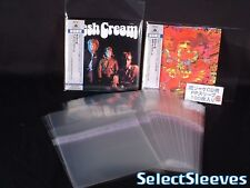 MINI LP CD Outer RESEALABLE SelectSleeves Japan Made 100 pcs