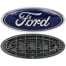 "Ford Truck Logo Oval Front Grill Emblem Badge Replacement 9"" X 3.5"" Symbol Trim"