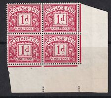 1914 GV POSTAGE DUES SGD2wk block of 4-.MNH & MM