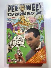 PeeWee's Colorforms Play Set New In Sealed Original Box 1987 Mint