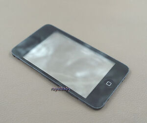 touch digitizer touchpad screen lens frame home button fr ipod touch 3rd gen