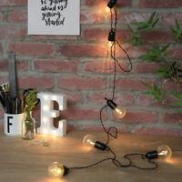 Battery Power LED Outdoor Tree Festoon Lights | Garden Globe Party Home Decor