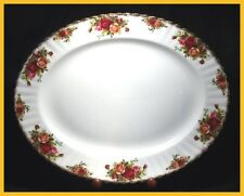 Royal Albert Old Country Roses 15 Inch Oval Platter - 1st Quality Excellent Cond