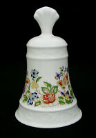 AYNSLEY COTTAGE GARDEN BELL BY DANBURY MINT - BELLS OF THE WORLD - ENGLAND