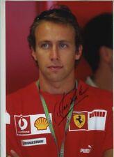 Luca Badoer Ferrari F1 Test Driver Portrait Signed Photograph 3