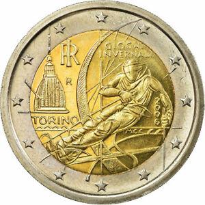 [#751810] Italie, 2 Euro, Jeux olympiques de Turin, 2006, SPL, Bi-Metallic, KM:2