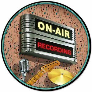 "Retro Look On Air Recording Studio NEW Metal Sign 28"" Diameter AMERICAN STEEL"