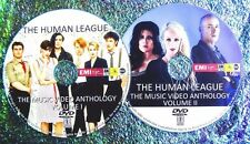 Button & FREE HUMAN LEAGUE & Phil Oakey Music Video Collection 78-2011 2 DVD Set