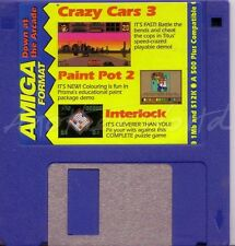 Amiga Format - Magazine Coverdisk - Crazy Cars 3 Demo