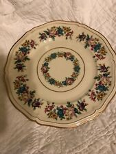 Rosenthal Ivory Bavaria Plate-Cream With Flowers