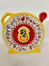 Mattel See 'n Say 1989 Disney Mickey Mouse ABC's Talks Sound Pull Toy