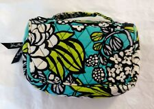 Vera Bradley Floral Hanging Cosmetic Make Up Toiletries Travel Case Bag Organize