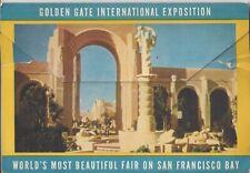 Souvenir Postcard Packet Golden Gate International Exposition, World's Most