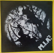 M.I.A.'s - M.I.A.'s (1982 vinyl EP on Lost, Boston new wave/post-punk) EX(-)/EX+