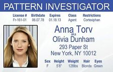 Anna Torv Fringe Olivia Dunhan Pattern Investigator fbi Drivers License