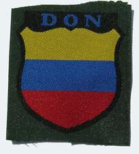 German WW2 Don Cossacks sleeve shield.First pattern.