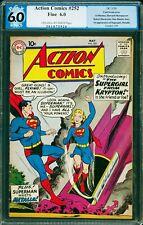Action Comics #252 PGX 6.0 DC 1959 1st Supergirl! Superman! Free CGC Mylar! cm