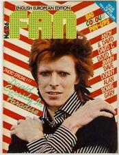 DAVID BOWIE Cassidy ESSEX Donny & Jimmy OSMOND Gary Glitter FAN poster magazine