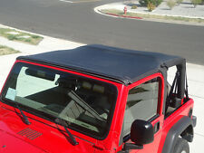 1997-2006 Jeep Wrangler Safari Extended Bikini Bimini Top in Black