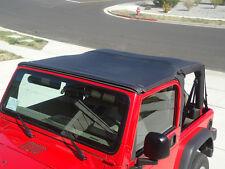 1997-2006 Jeep Wrangler Safari Extended Bikini Bimini Top in Black