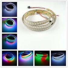 1M WS2812B 5050 RGB LED Strip 144 pixels/M Individual Addressable 5V Epoxy IP65