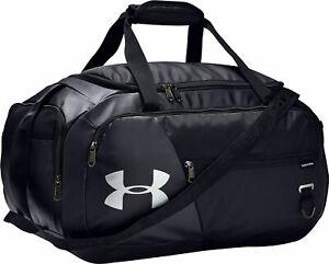 Under Armour Undeniable 4.0 Small Holdall Black Duffel Bag Gym Training Leisure